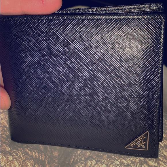 c7b35777d12e Prada Bags | Saffiano Bifold Men Wallet | Poshmark